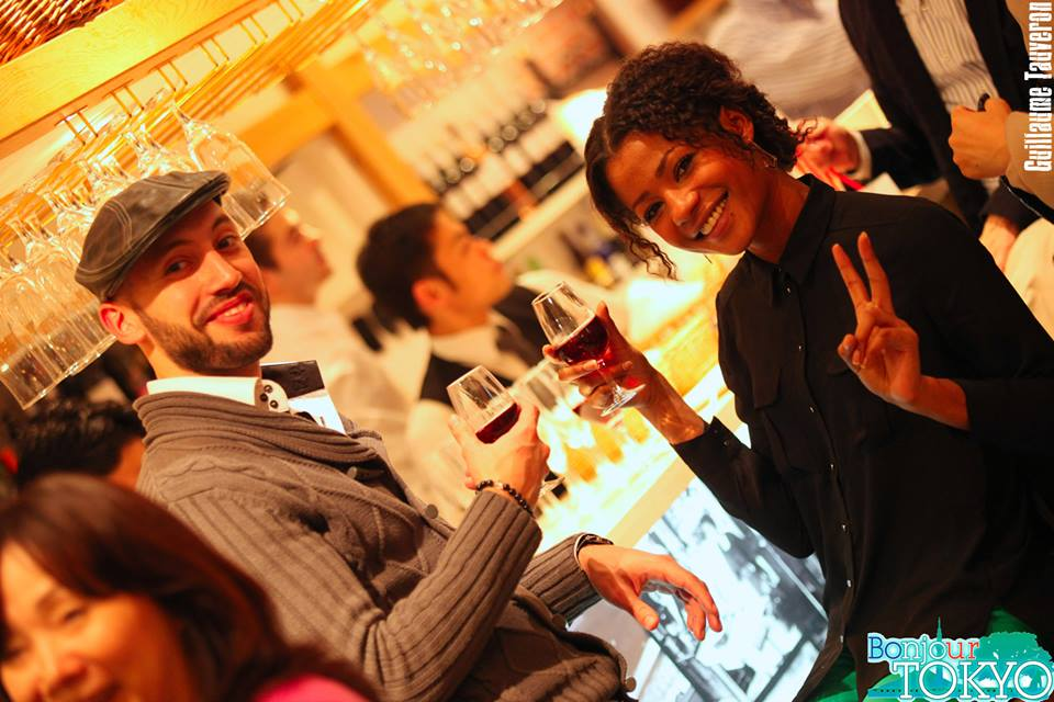 bonjour tokyo beaujolais nouveau party