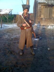 Soldat russe dans Sakano ue no kumo