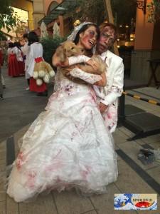 Félicitations ! Un mariage zombie !