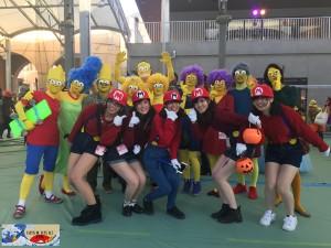Lse Simpson contre la team Mario