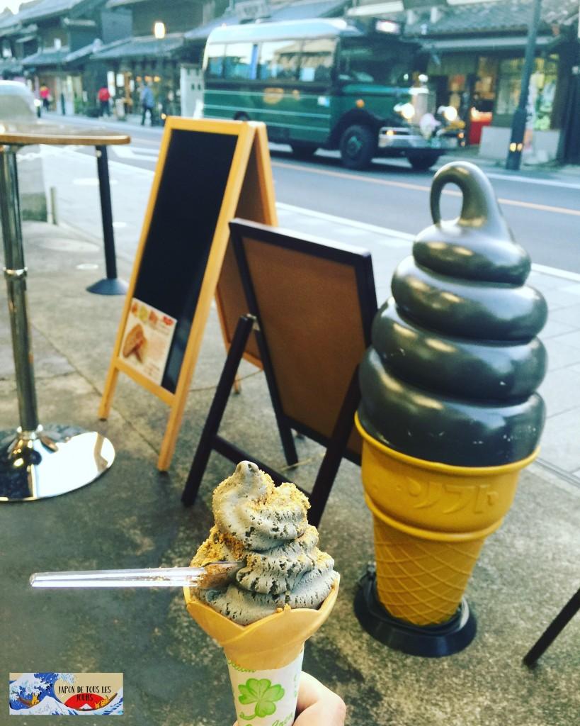 Glace sésame Kawagoe