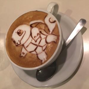 Reissue latte art cafe