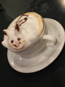 Reissue latte art cafe