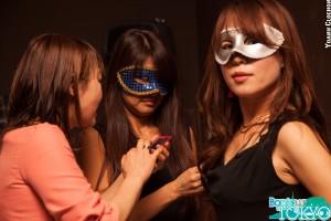 Bonjour Tokyo mask