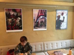 DeadPool Cafe Bonjour Tokyo