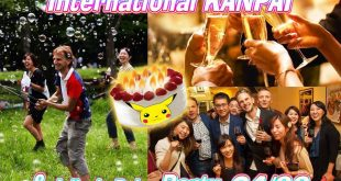 04/22 INTERNATIONAL KANPAI PARTY + JULIEN'S BIRTHDAY