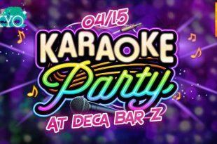 karaoke party bonjour tokyo