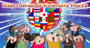 INTERNATIONAL FRIENDS PARTY : 08/02 & 28/02